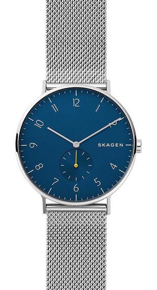 Relógio Skagen Masculino Aaren Prata Skw6468/1kn
