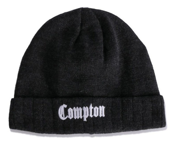 Touca - Gorro - Chronic - Compton - Cinza Chumbo