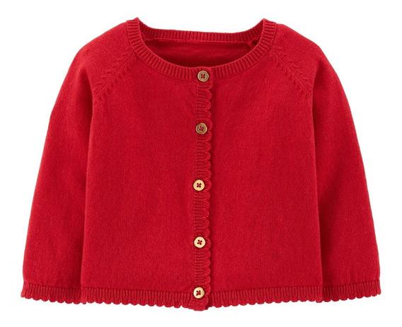 Sueter Rojo Para Bebé Marca Carters Envio Full