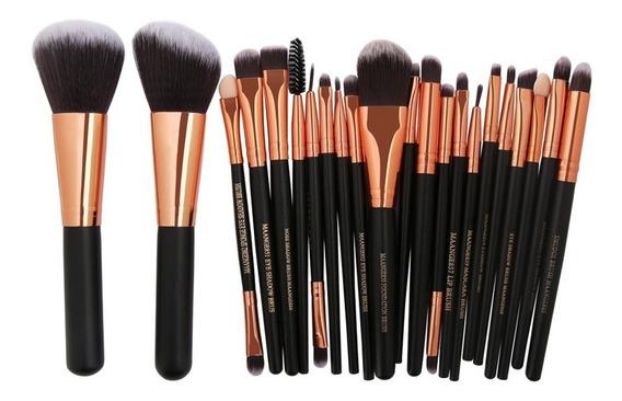 Kit Pincel Maquiagem Profissional Maange 22 Peças