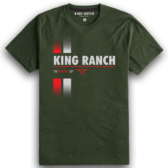 Camiseta King Ranch Farm Truck Country Laçador Montaria Txc