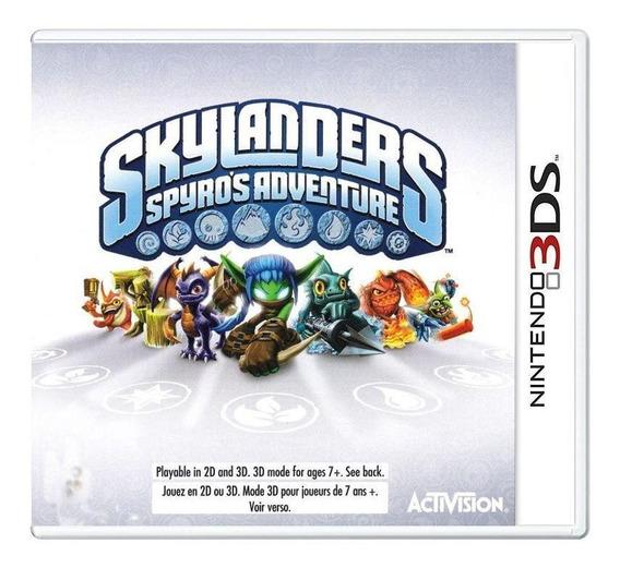 Skylanders Spyros Adventure 3ds Mídia Física Pronta Entrega