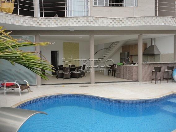 Venda-casa Em Condominio Com-04 Dorms-2 Suites-4 Vagas-mosaico Da Serra-mogi Moderno-mogi Das Cruzes - V-1347