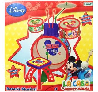 Bateria Musical Juguete Mickey My First Band Grande 1636