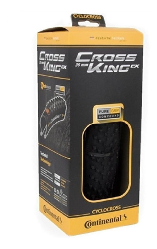 Pneu Continental Cross King Cx Ciclo Cross 700x35 Anti Furo