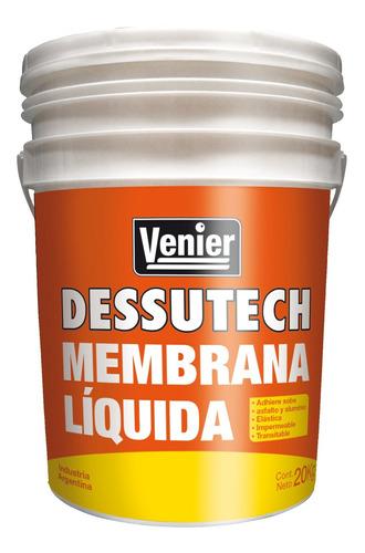 Imagen 1 de 5 de Membrana En Pasta Liquida Techos 20 Kg Venier Rex