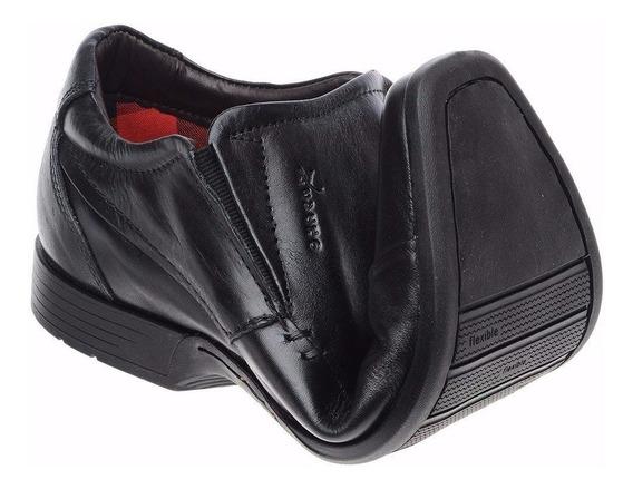 Sapato Casual Stilo Confort Flexivel Coleção Social Fino Esp