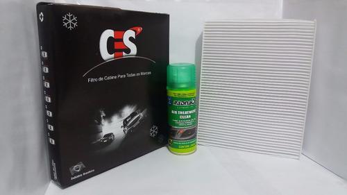 Imagem 1 de 1 de Filtro De Ar Condicionado Clio 2013-symbol + Higienizador