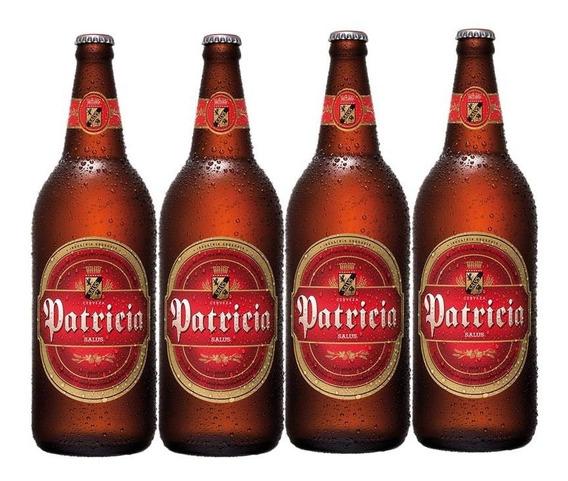 Cerveza Patricia 970 Ml X4