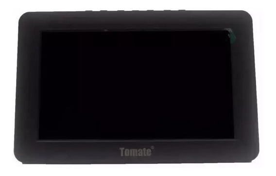 Tv Digital E Monitor 7 Polegadas Tomate Mtm 707