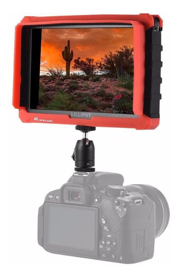 Monitor Lcd Lilliput A7s Ips 4k Sony Canon Nikon + Case