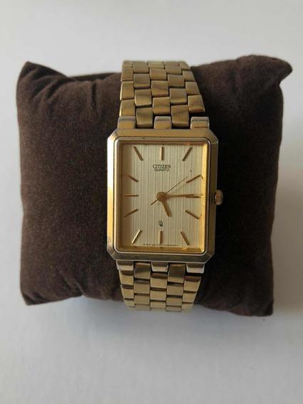 Reloj Citizen Vintage 80s Dorado Para Caballero