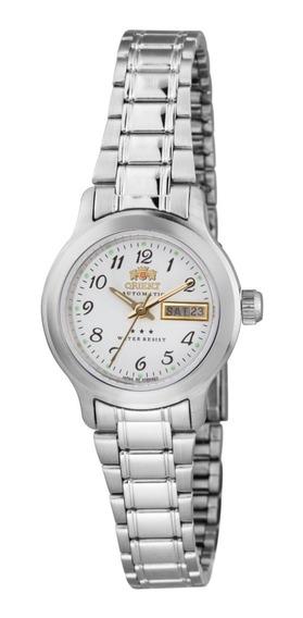 Relógio Orient Feminino Automático 559wa6x B2sx Aço Pequeno