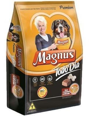 Ração Magnus Todo Dia Cães Adultos 15kg + 2 Biscoito 500g