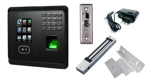 Combo Control Acceso Biométrico Y Facial Reloj Mb360 Zkteco