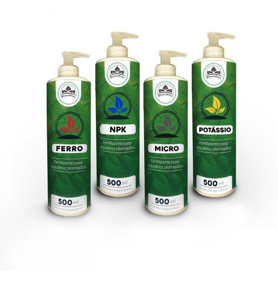 Powerfert 500 Ml Fertilizante Líquido Aquário Plantado