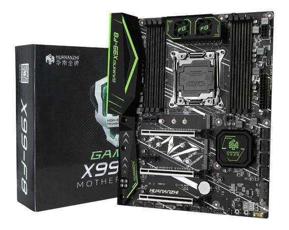 Placa Mãe X99 Intel Lga2011v3 Gaming Ddr4 Huananzhi X99-f8