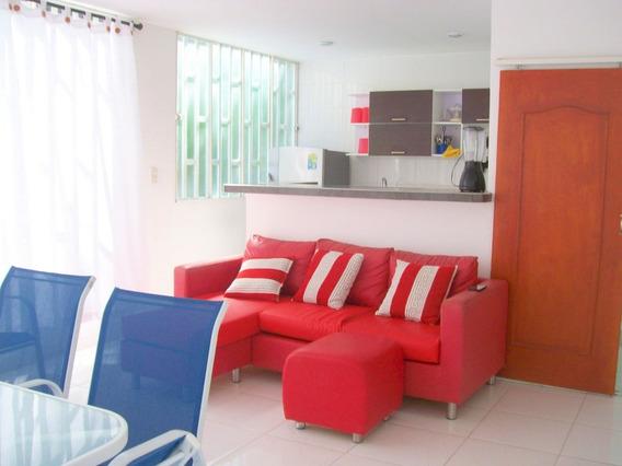 Apartamento Amoblado Santa Marta (gaira) Arriendo A 1 Año