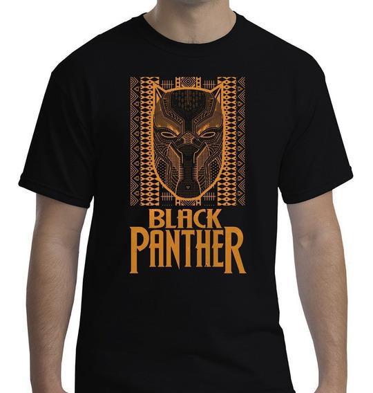Camisa Camiseta Masculina Feminina Black Pantera / Algodão