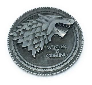 Pin Broche Game Of Thrones Símbolo De La Casa Stark Got