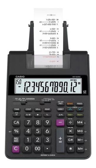 Calculadora De Mesa Compactada 2.0 Bivolt Hr-100rc Casio
