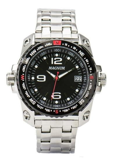 Relógio Magnum Masculino Ma34218t - Estado De Novo