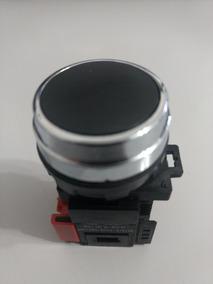 Botão De Comando 30,5mm Preto Com 1 Contato Nf Eaton