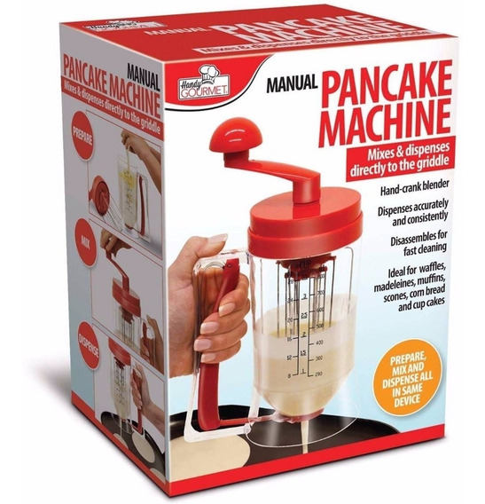 Maquina Dispensador Mezclador Manual Para Hot Cakes Pastele