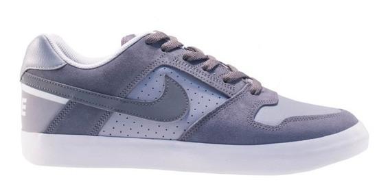 Tênis Nike Sb Delta Force Vulc Cinza - Original 942237-001