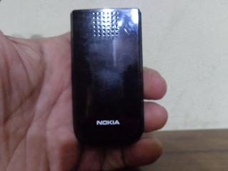 Celular Nokia 2720a 2b Black Op Claro Mola Flip Quebrada