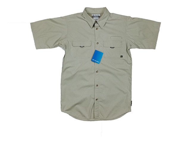 Camisa Juvenil Columbia Pfg Manga Corta, Talla Xl