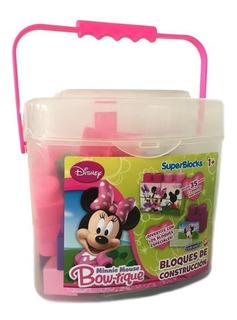 Super Bloques Disney Junior Minnie O Princesas