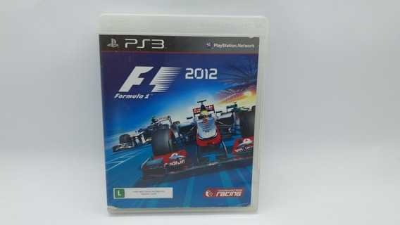 Formula 1 2012 - Ps3 - Midia Fisica Em Cd Original