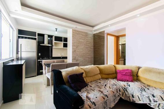 Apartamento No 2º Andar Com 2 Dormitórios E 1 Garagem - Id: 892973568 - 273568