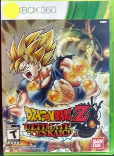 Dragon Ball Z Ultimate Tenkaichi Xbox 360 Infinity Games