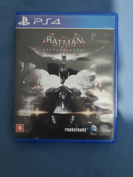 Batman Arkham Knight Ps4 Mídia Física Playstation 4
