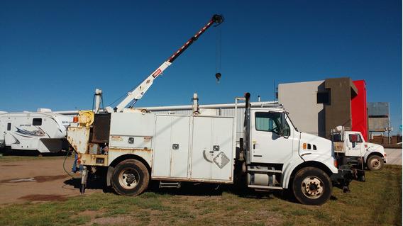 Camion De Servicio 2009 Recien Importado Con Grua Y Cajones