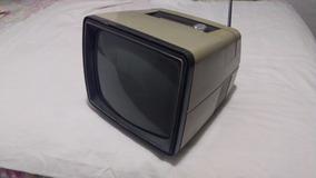 Antiga Tv Portatil Philco Eletronic Soft Selector De Lixe 12