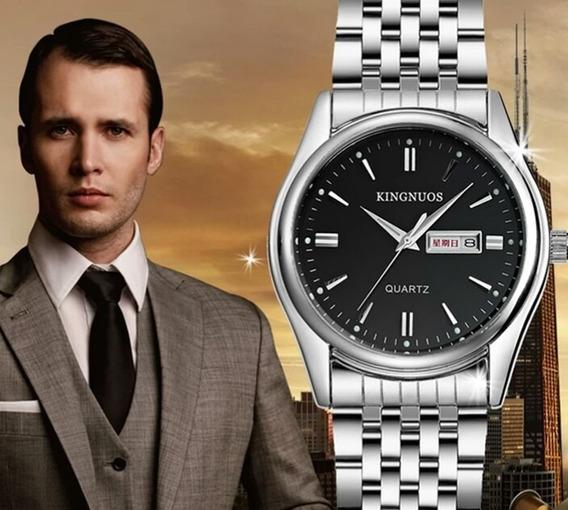 Relógio Masculino Quartz 2019