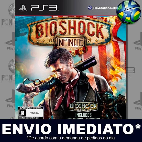Bioshock Infinite Ps3 Psn Jogo Em Promoção A Pronta Entrega