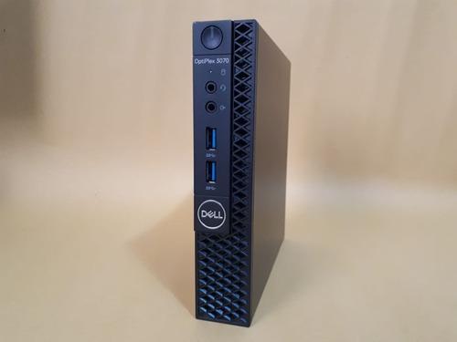 Imagem 1 de 8 de Mini Pc Dell 3070 I3-9100t 9ª Ger