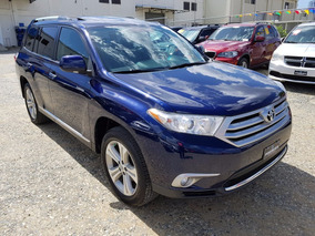 Toyota Highlander 2013 Semi Nueva 1 Año Garantia