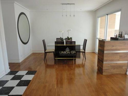 Apartamento Com 3 Dormitórios À Venda, 173 M² Por R$ 1.290.000,00 - Panamby - São Paulo/sp - Ap44709