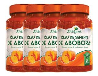 Óleo De Semente De Abóbora 4 X 60 Cápsulas 1000mg - Katigua