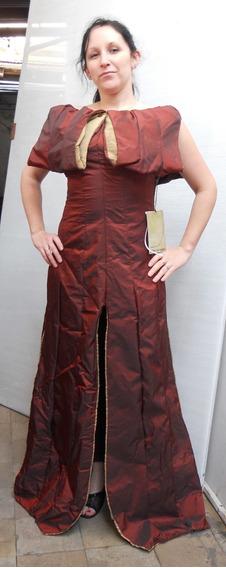Vestido De Fiesta Largo Autentico Junya Watambe, Ver Descrip