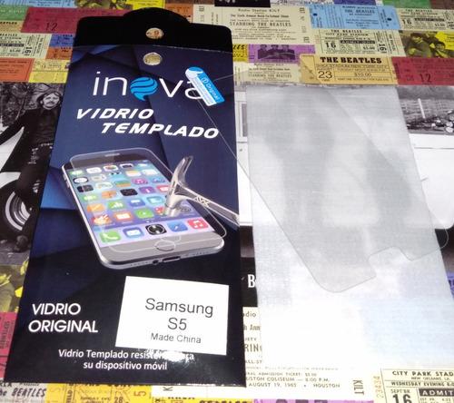 Glass Vidrio Celular Samsung S5 Nuevo!
