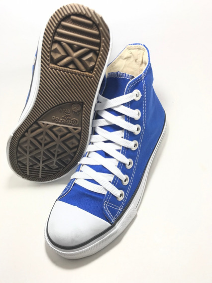 Tenis Converse All Star Ct Core Hi Bota Azul Royal