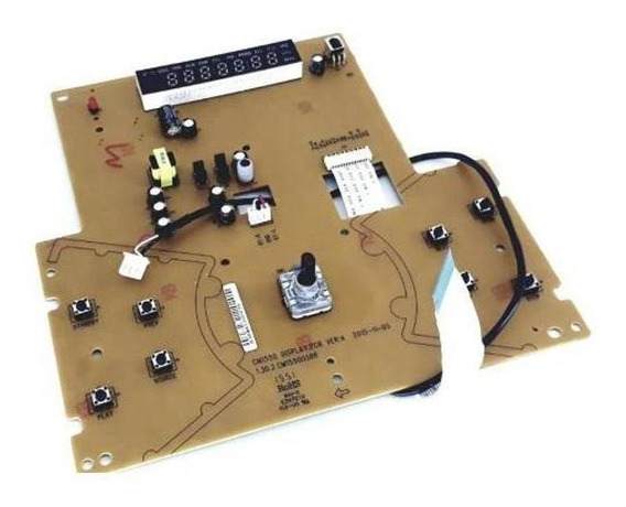 Placa Do Display E Usb Mini System Semp Toshiba Ms9150bt
