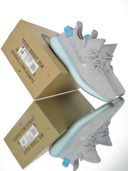adidas Yeezy Boost 350 V2 grey Shallow Blue