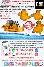 Reparación De Bomba De Agua Caterpillar C9 Tractor D6r Turb